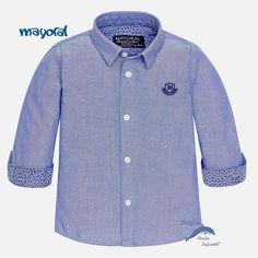 Camisa de niño bebe MAYORAL manga larga oxford 4e6cc36c1cb00