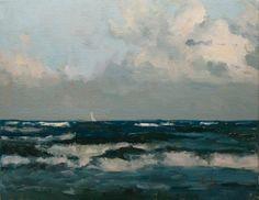 """""""Miles of Ocean"""" original fine art by Randall Cogburn"""