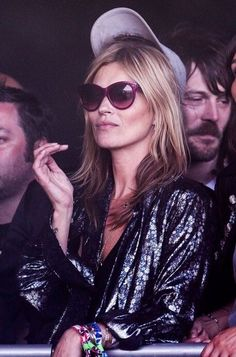 Kate Moss Wearing Oliver Goldsmith MANHATTAN 1960 Sunglasses in Plum http://eye-candy.co/collections/oliver-goldsmith-sunglasses/products/manhattan-1960 #KateMoss #OliverGoldsmith #Sunglasses