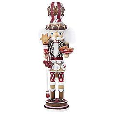 Decorate your home this holiday season with the Kurt Adler Hollywood Gingerbread Nutcracker. Fun, festive and designed to put a unique, vibrant, memorable twist on traditional nutcrackers.
