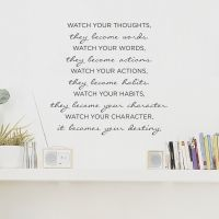 sweet words. http://www.wallums.com/vinyl-wall-decals/