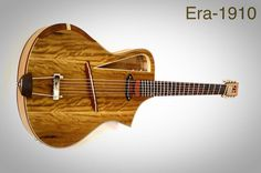 Electro acoustic guitar Handmade Luthier fanned by RauloGuitars