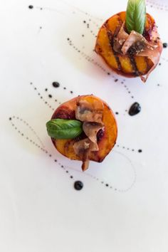 Grilled Peaches with Prosciutto + Balsamic Glaze   Magnolia Thymes   Photography by Anna Howard Studios