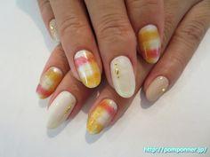 もふもふの質感を表したブランケットネイル #nail #nails #ネイル