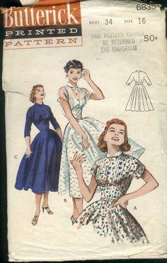 Butterick 6835 dress