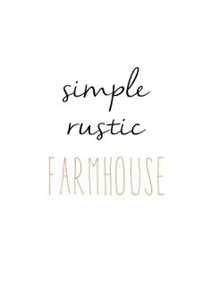 simple rustic farmhouse image...would be greT to frame! Decorating idea for Farmhouse and Rustic Decor