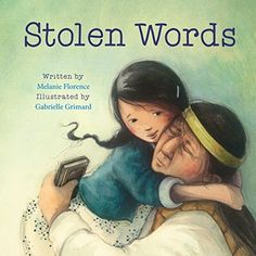 "Stolen Words by Melanie Florence: ""A look at the intergenerational impact of Canada's residential school system that separated Indigenous children from their families and the beautiful, healing relationship between a little girl and her grandfather. Indigenous Education, Aboriginal Education, Residential Schools, Native American Pictures, Album Jeunesse, Joelle, Canadian History, Thing 1, Children's Picture Books"
