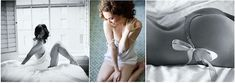 Tips for Getting Started in Boudoir Photographyby Christa Meola - Great tips and I love the pose with the woman sitting on the floor