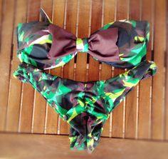 Jungle paradise - swimwear