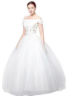 atopdress@ wt03 cap sleeve Wedding bride wear big day dress eveing ball prom dress party wear (12, Ivory) atopdress http://www.amazon.co.uk/dp/B0124SJZKQ/ref=cm_sw_r_pi_dp_Yedfwb1JMC7PD