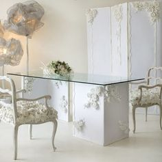 Chic Office Space For Wedding Planner Studio Decor