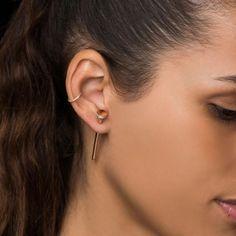 SINGLE LIP RING | ESTABLISHED JEWELRY®