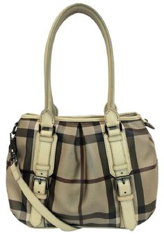 c07d079c0b78 Smoked Check Small Northfield Trench Beige Pvc Tote. Tradesy