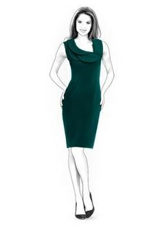 (9) Name: 'Sewing : Dress Sewing Pattern 4320
