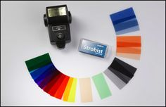 Rosco, the worldwide leader in color filters has assembled the essential collection of filters for use with your on-board flash.