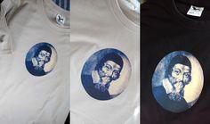 Pánské triko J. A. Komenský - béžové tisk na kvalitním tričku gramáže160 g/m2, 100 %bavlna, velikost L, obvod přes prsa 112, délka 78cm praní na 40°C béžové