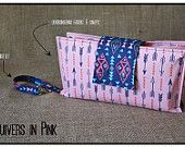 """""""Quivers in Pink"""" Nappy Clutch A$28.00 plus postage  (Nappy Clutch / Diaper Clutch / Nappy Wallet / Diaper Wallet)"""