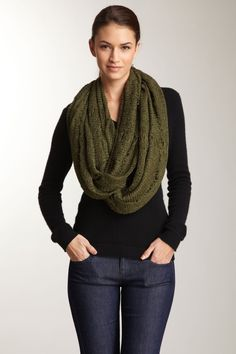 Collection Rouge Adele Heavy Gauge Infinity Scarf