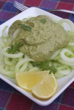 Paleo Cucumber Noodles with Tonnato Sauce (AIP)