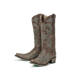 Lane Boots Women's Brown 'Love Sick' Cowboy Boots
