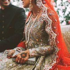 by alishalikes Pakistani Bridal Couture, Indian Bridal Fashion, Pakistani Wedding Dresses, Formal Dresses For Weddings, Traditional Trends, Desi Bride, Pakistan Fashion, Ethnic Fashion, High Fashion