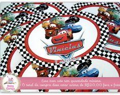 Adesivo Carros Disney