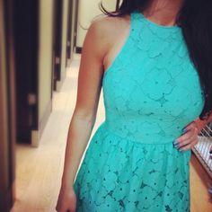 True blue LC Lauren Conrad style. #Kohls