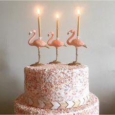 Flamingo Candle Holder By Lola Beau