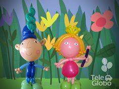 Ben y Holly en globos