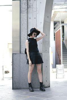 [Street Style] もやし | 高校生 | Harajuku  (Tokyo)