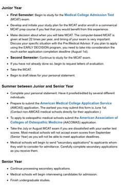 UW-Milwaukee Pre Med Suggested Timeline or Activities Part 2 Source by Mcat Test Prep, Medical College, Medical Careers, College Motivation, School Study Tips, Med Student, Milwaukee, Med School, College Hacks