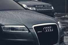 Audi RS6 & Land Rover Range Rover 2013