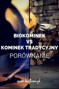 Zastanawiasz się czym różni się biokominek od kominka tradycyjnego (na drewno)? Zobacz nasze porównanie.