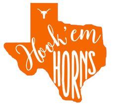 Fan Creations NCAA Texas Longhorns Distressed Team Logo Desktop Organizer with Color