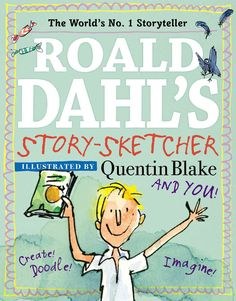 This doodle book is the perfect way for every young Roald Dahl fan to celebrate the anniversary of Charlie and the Chocolate Factory . This doodle book includes activities based many of Roald Dahl Stories, Roald Dahl Day, S Stories, Activity Games, Activities, Charlie Chocolate Factory, Doodle Books, School Decorations, Willy Wonka