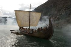 Viking boat NORWAY | Around the World Themed Party ideas decor games food