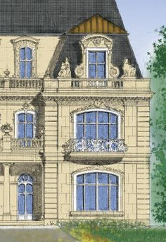 Luxury plans for castles, manors, chateaux and Palaces in European Styles. Beautiful grand Stately Houses