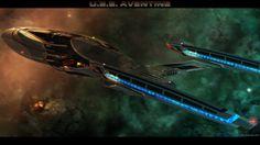 Federation Starship – Vesta Class