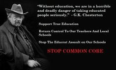 Stop the educrats, Stop Common Core