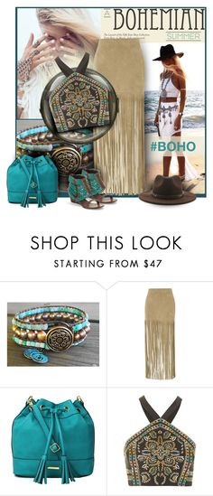 """""""hashtag boho"""" by sheryl-lee ❤ liked on Polyvore featuring ThePerfext, Liz Claiborne, Topshop and Forever 21"""