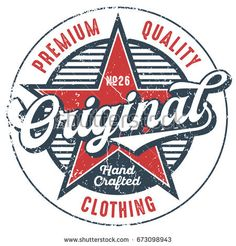Premium Quality Clothing - T-Shirt Design