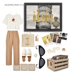 Designer Clothes, Shoes & Bags for Women Le Specs, Maje, Lc Lauren Conrad, Polaroid, Gucci, Polyvore, Stuff To Buy, Outfits, Furniture