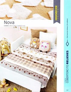 #ClippedOnIssuu from Catalogo Esquimal Cobertores 2016-17 Toddler Bed, Bb, Furniture, Home Decor, Tela, Bedspreads, Child Bed, Decoration Home, Room Decor