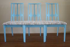 DIY Furniture : DIY Bench out of Chairs