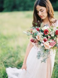Rustic + Elegant Tuckahoe Plantation Wedding Inspiration - Style Me Pretty