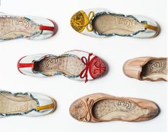 Perforated ballet flats: to make you feel it's summer time!