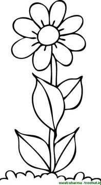 flower coloring page (4)