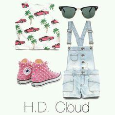 #fashionstyle #teens #teenfashion #ootd #summer #overalls #jumper