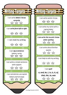 These writing targets are specifically aligned with Australian Curriculum English Years F-6 , which allows teachers to easily provide…