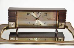 Vintage Musical Alarm Clock  Rhythm  Bell & by thelittlebiker